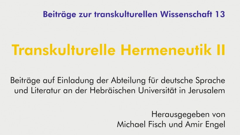 Lecture series in German German Culture and Literature